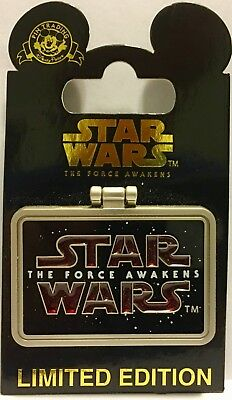 SIDON ITHANO The Force Awakens Disney Star Wars Frame Pin Limited Edition 10000
