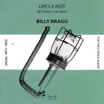 Billy Bragg - Life's A Riot Between The Wars  RARE ORIG Canada LP (Mint!)