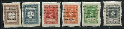 Yugoslavia Fiume Revenue lot. x950