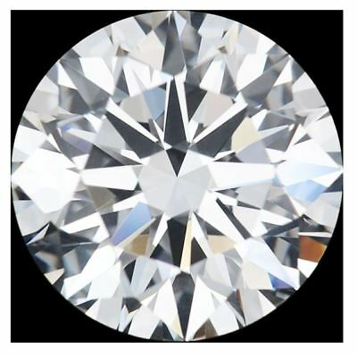 6.5mm Certified Moissanite - Round Brilliant  - DEF Colorless - VVS - AAAA