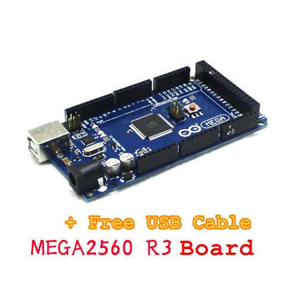 ATMEGA16U2 Board Kit For Arduino Mega 2560 R3 Board Compatible With USB Cable