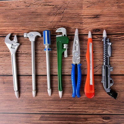 Wrench Tool Ballpoint Pen Novelty School Office Gift Kid Toy Cute Stationery