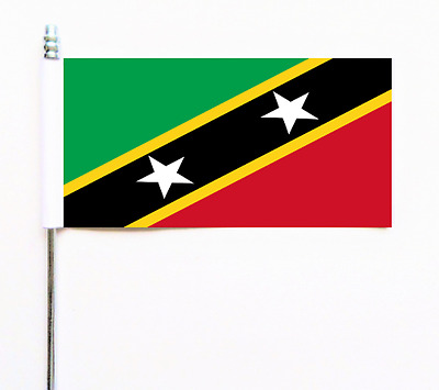 ST KITTS ET NEVIS Ultimate DRAPEAU DE TABLE