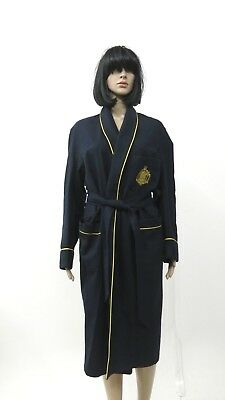 US Naval Academy Vintage Robe Wool Blend Bath Smoking Robe Small