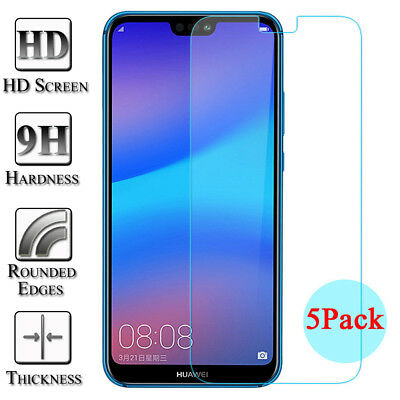 3X 5X 9H Tempered Glass Screen Protector For Huawei Mate 10 P9 P10 P20 Lite Pro