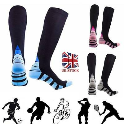 2pcs Compression Socks Varicose Vein Stocking Running Leg Relief Pain Support
