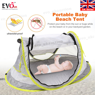 Pop Up Baby Beach Tent Kiddies Portable Sun Shade Shelter Anti-UV Outdoor