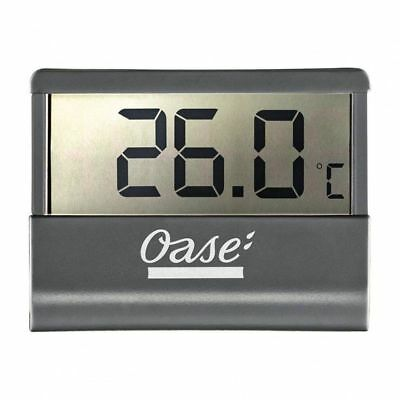 Oase Aquarium Digital Thermometer LCD Display Fish Tank - Monitor Temperature