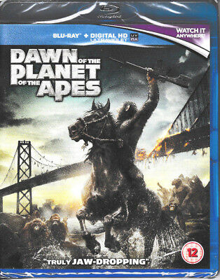 Dawn of the Planet of the Apes + Blu Ray + Digital HD UV - Brand New & Sealed