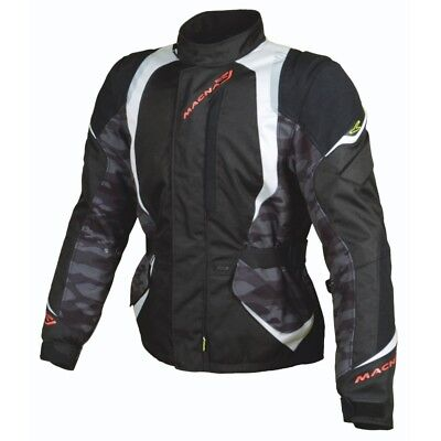Macna Escape Waterproof CE Approved Armoured Motorcycle Bike Jacket