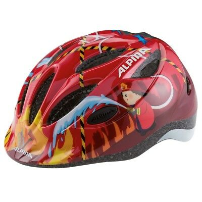Alpina Kinder-Fahrradhelm GAMMA 2.0 Gr. 46-56 cm, red firefighter
