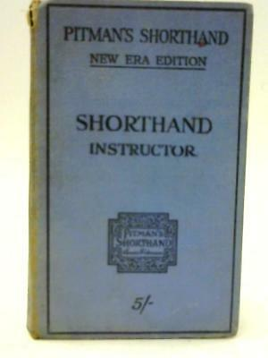 Vintage pitmans shorthand instructor book new course book 699 pitmans shorthand instructor new era edition isaac pitman 1111 id95917 fandeluxe Choice Image
