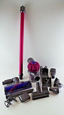 Used Dyson SV04 V6 motorhead Cordless Vacuum Cleaner Pink #444DC