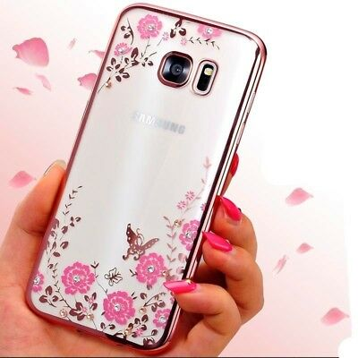 Glitter Plating Soft Silicone Case for Samsung Galaxy A3 A5 A7 2017 Back Cover