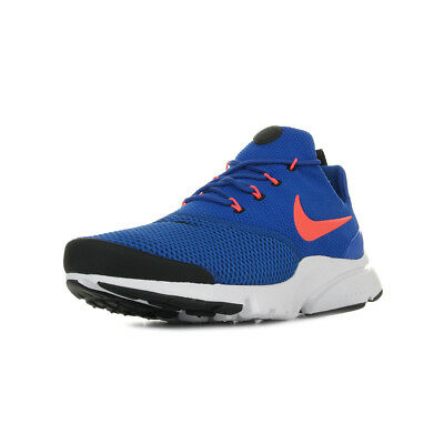 new product 6768e d7bda Chaussures Baskets Nike homme Presto Fly taille Bleu Bleue Textile Lacets