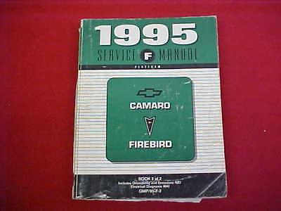 1995 camaro trans am firebird shop manual cd chevy z28 pontiac rh picclick com 2002 Camaro 2000 Camaro