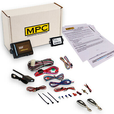 Complete 1-Button Remote Start Kit For 2009-2013 Mazda 3