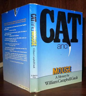 Gault, William Campbell CAT AND MOUSE 1st Edition 1st Printing