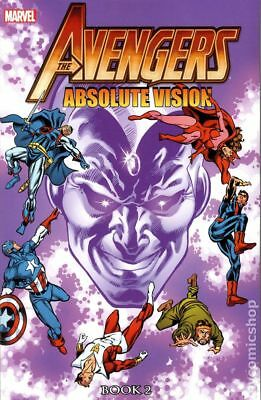 Avengers Absolute Vision TPB (Marvel) 2-1ST 2014 NM Stock Image