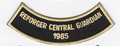 """REFORGER (Central Guardian) 1985 4""""  embroidered patch"""