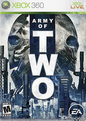 Army of Two (Microsoft Xbox 360, 2008) DISC ONLY