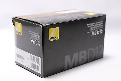 USA Model & Warranty Card!  Brand New! Nikon MB-D12 Multi Power Battery Pack