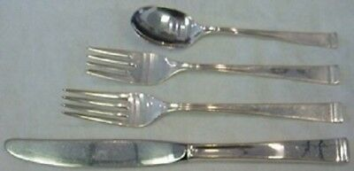 Theme By Gorham Sterling Silver Regular Size Place Size Setting(s) 4pc