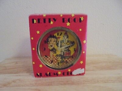 Vintage Betty Boop Alarm Clock - New in Box