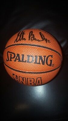 ELTON BRAND ~ Mini Basketball  ~ SIGNED ~ NBA Los Angeles Clippers ~  AUTOGRAPH