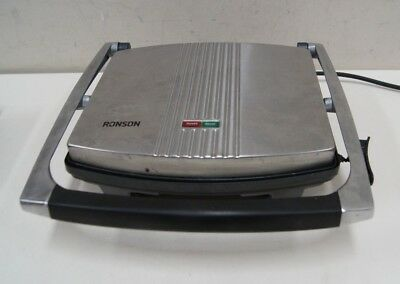 Ronson Stainless 4 Slice Sandwich Press - RSG400