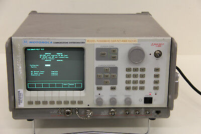 Motorola General Dynamics R2600B-HS Communications Service Monitor