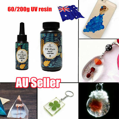 60/200g DIY UV Ultraviolet Resin Curing Solar Cure Sunlight Activated Hard  ON