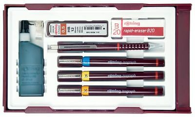 rotring Tuschefüller isograph College Set, 0,2 - 0,7 mm