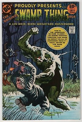 DC Special Ser. #2 VF/NM 9.0 high grade Wrightson Swamp Thing 1977 new cover art
