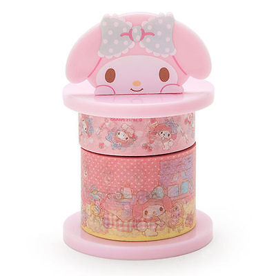 Sanrio My Melody Paper Washi Tape & Dispenser Horder 495484