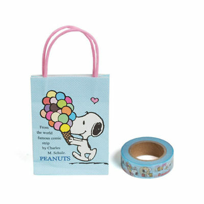 Sanrio Snoopy Fun Design Serie Mini Paper Bag 1.5Cm*15M Paper Tape 628255N