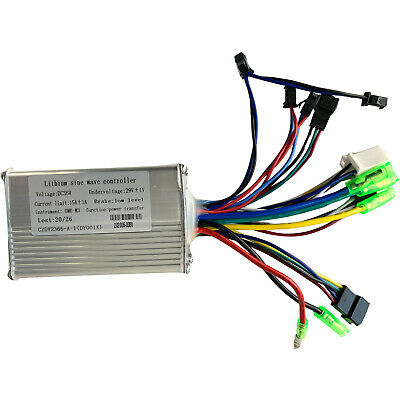 36V 350W Brushless Motor Controller eBike Bicycle Scooter Bike Conversion Kit