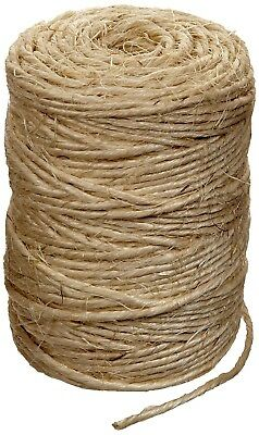 NEW 3MM diameter SISAL natural rope string twine, You choose length. NOT ROLL