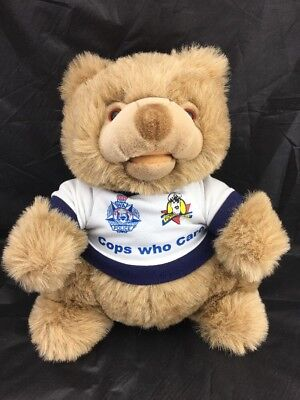 """LARGE """"CONSTABLE CARE"""" BEAR PLUSH TOY. Huggable Toys."""