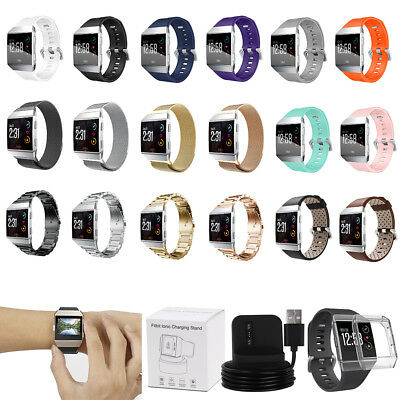 For Fitbit Ionic Smart Watch Band Strap Soft Replacement Bracelet Wrist Band