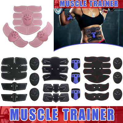 Wireless Electric Muscle Arm EMS Machine Toning Belt Simulation Abs Fat Burner