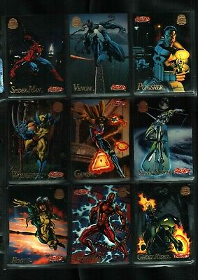 1994 Marvel Universe Series 5 Card Set 200 Cards Near Mint Condition