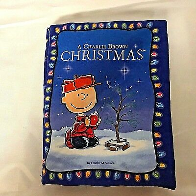 A Charlie Brown Christmas Soft Cover Book Charles M. Schulz Classic Illustrator