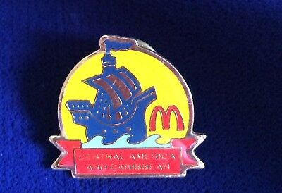 McDonald's Central America And Caribbean Employee Crew Member Sailing Ship Pin