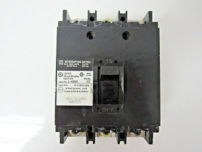 SQUARE D Q2 Q2B Q2B32225 3 POLE 225 AMP 240V CIRCUIT BREAKER GRAY