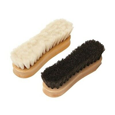 Equerry Wooden Face Brush With Goar Hair Bristles - Goat Grooming