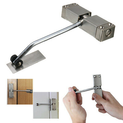 2 Adjustable Automatic Strength Spring Door Closer Auto Hinge Fire Rated Mounted