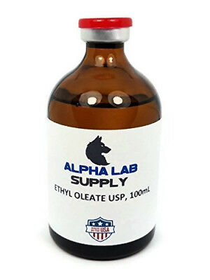 100mL Ethyl Oleate USP - Filtered & Sterile