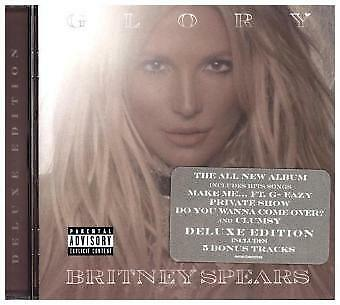 Britney Spears - Glory (Deluxe Version) CD Rca Int. NEW