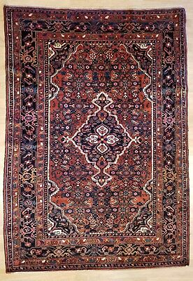 Marvelous Malayer - 1930s Antique Persian Rug - Tribal Runner - 4.10 x 6.8 ft.